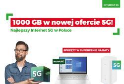 PLUS - 1000 GB w nowej ofercie 5G w Plusie!